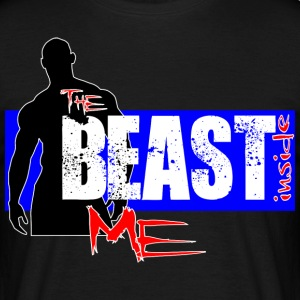 The Beast Inside Me - T-skjorte for menn