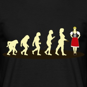 EVOLUTION DIRNDL - T-shirt Homme