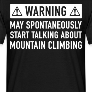 Funny Mountaineers Gift Idea - Men's T-Shirt