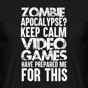 Gamer - Zombie Apocalypse - T-shirt Homme