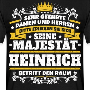 His Majesty Henry - Men's T-Shirt