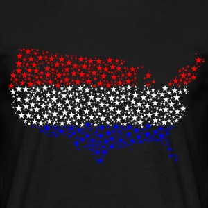 USA - T-shirt herr