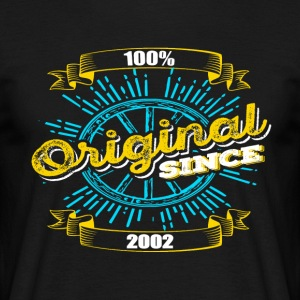 Original since 2002 - Men's T-Shirt