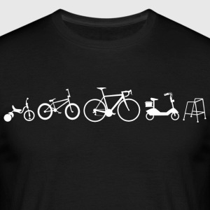 Bicycle evolution - Men's T-Shirt