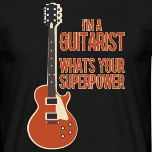 Awesome GUITARIST - Musik - Männer T-Shirt
