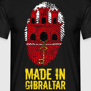 Made In Gibraltar - Herre-T-shirt
