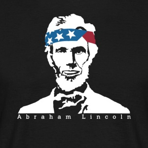 President Abraham Lincoln Vintage American Patriot - Men's T-Shirt
