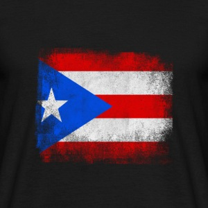 Puerto Rico State Flag Look Vintage Shirt - T-skjorte for menn