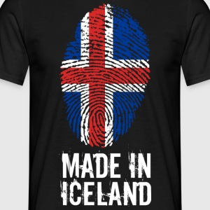 Made In Island / Island / IS - T-skjorte for menn