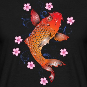 koi carp - Men's T-Shirt