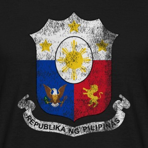 Filipino Coat of Arms Philippines Symbol - Men's T-Shirt