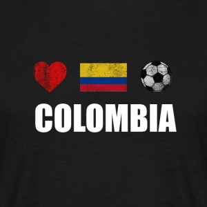 Voetbal Colombia Colombiaanse voetbal T-shirt - Mannen T-shirt