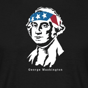Il presidente George Washington americano Patriot - Maglietta da uomo