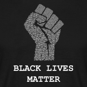 Black Lives Matter T-shirt - Civil Rights Peace - T-shirt herr