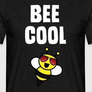 ++ ++ Bee Cool - Herre-T-shirt