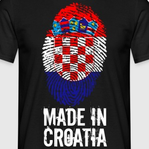 Made in Croazia / Made in Croatia Hrvatska - Maglietta da uomo
