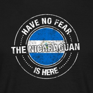 Have No Fear The Nicaraguan Is Here Shirt - T-shirt herr