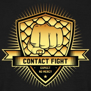 Contact Fight Gold - Men's T-Shirt