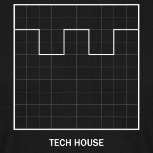 Tech house AMPLITUDE - Mannen T-shirt