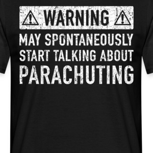 Original Parachute Jumping Gift: Order Here - Men's T-Shirt