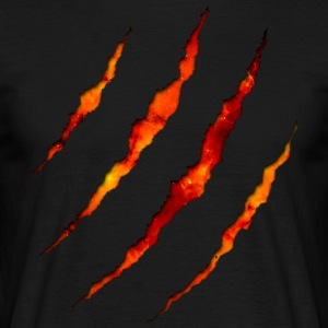 Claw Lava Black Edition #GROAHHH - Men's T-Shirt