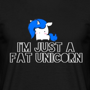 Unicorn - Tykk Unicorn - T-skjorte for menn