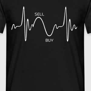 Heartbeat Design 1 - Herre-T-shirt