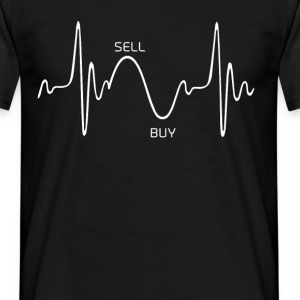 Heartbeat Design 1 - Men's T-Shirt