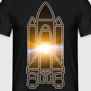 Spaceshuttle - Earth - Space - Männer T-Shirt
