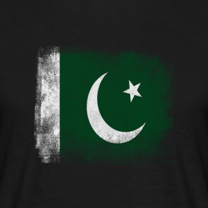 Pakistan Flagg Stolt Pakistan Vintage Look S - T-skjorte for menn