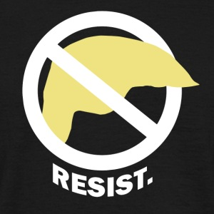 RESIST. - Mannen T-shirt