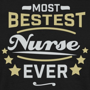 Best Nurse Ever - Shirt - Männer T-Shirt