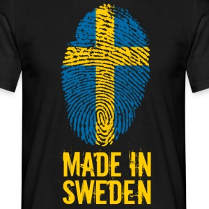 Made In Zweden / Zweden / Sverige - Mannen T-shirt