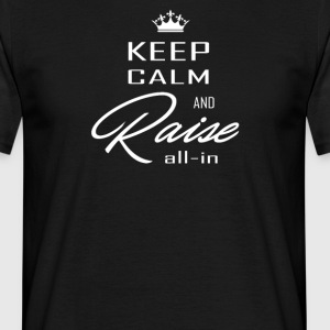 keep calm blanc - T-shirt Homme