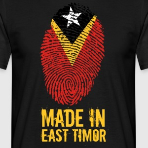 Made In Øst-Timor / Øst-Timor - T-skjorte for menn