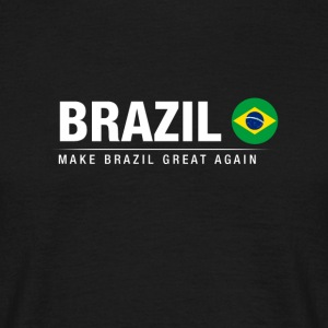 Ægtemand Brasilien Great Again - Herre-T-shirt