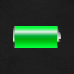 battery - Männer T-Shirt