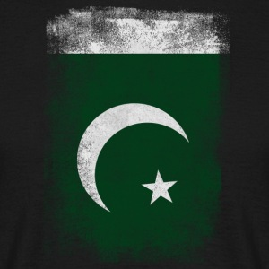 Pakistan Flagg Stolt Pakistan Vintage Look Sh - T-skjorte for menn
