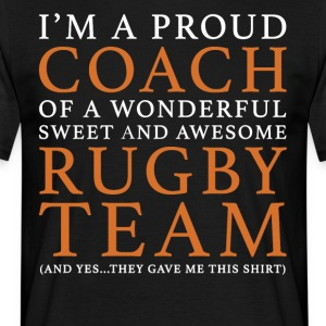 Original Rugby Coach Gift: Order Here - Men's T-Shirt