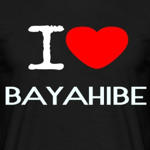 I LOVE BAYAHIBE - Men's T-Shirt