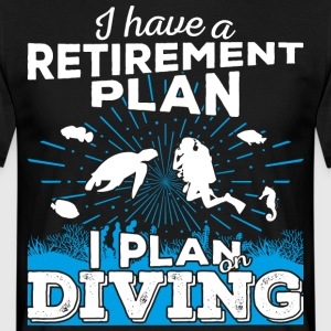 Retirement plan diving (light) - Men's T-Shirt