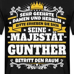 His Majesty Gunther - Men's T-Shirt
