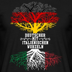 German with Italian roots - Men's T-Shirt