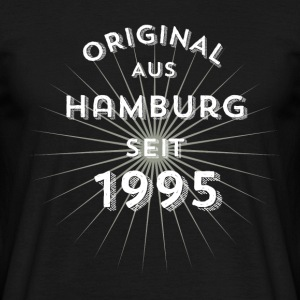 Original from Hamburg since 1995 - Men's T-Shirt