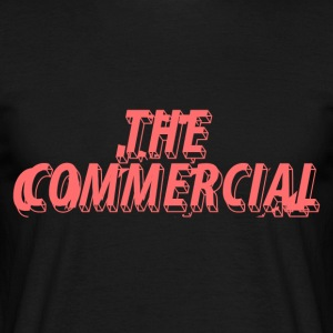 The Commercial Design #1 (Salmon - Men's T-Shirt