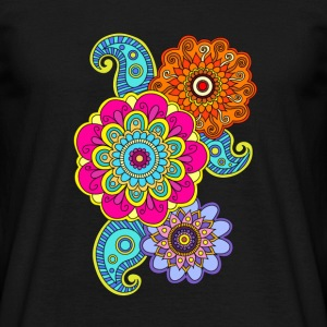 mandala komposition - T-shirt herr