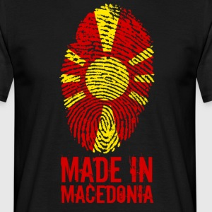 Lavet i Makedonien / Made in Makedonien - Herre-T-shirt