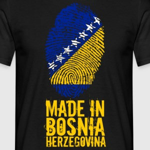 Made in Bosnia and Herzegovina Bosnien Herzegowina - Männer T-Shirt