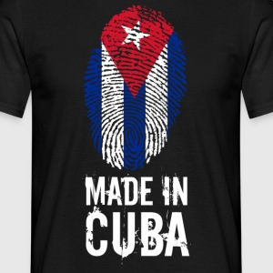 Made In Cuba / Cuba - Mannen T-shirt