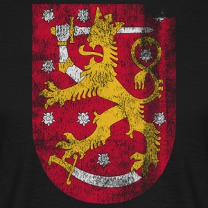 Finish Coat of Arms Finland Symbol - Men's T-Shirt